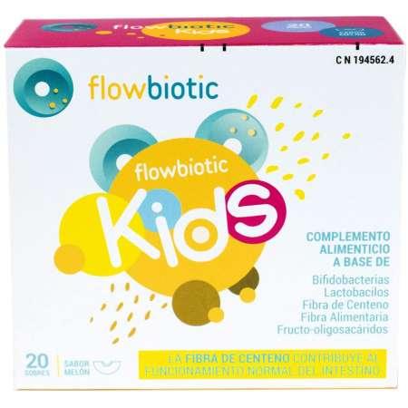 FLOWBIOTIC KIDS 20 SOBRES