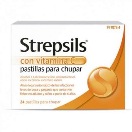 STREPSILS CON VITAMINA C 24...