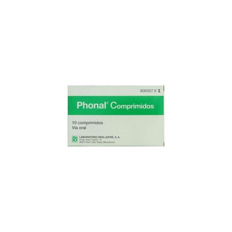 PHONAL 10 COMPRIMIDOS PARA...