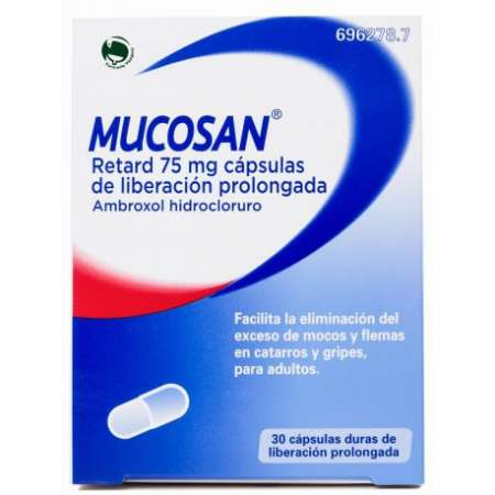 MUCOSAN RETARD 75 MG 30...
