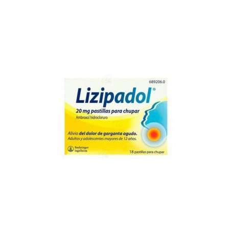 LIZIPAINA AMBROXOL 20 MG 18...