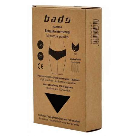 BRAGUITA MENSTRUAL BADS XL