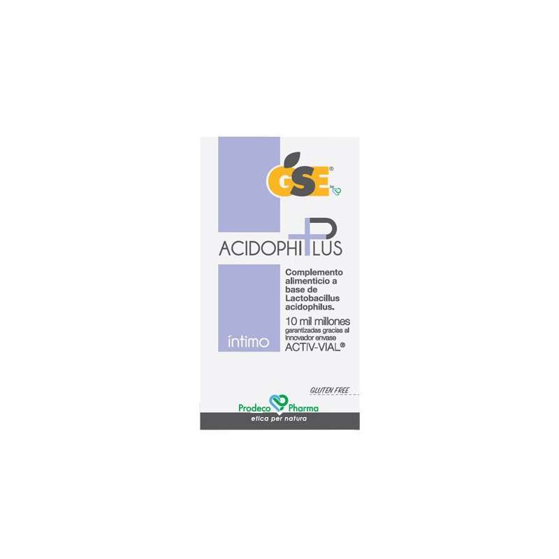 GSE ACIDOPHIPLUS CAPS...
