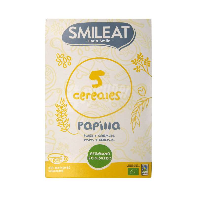 SMILEAT PAPILLA 5 CEREALES