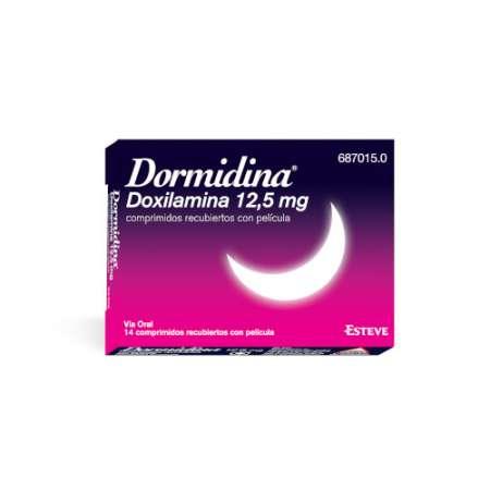 DORMIDINA 12,5 mg 14...