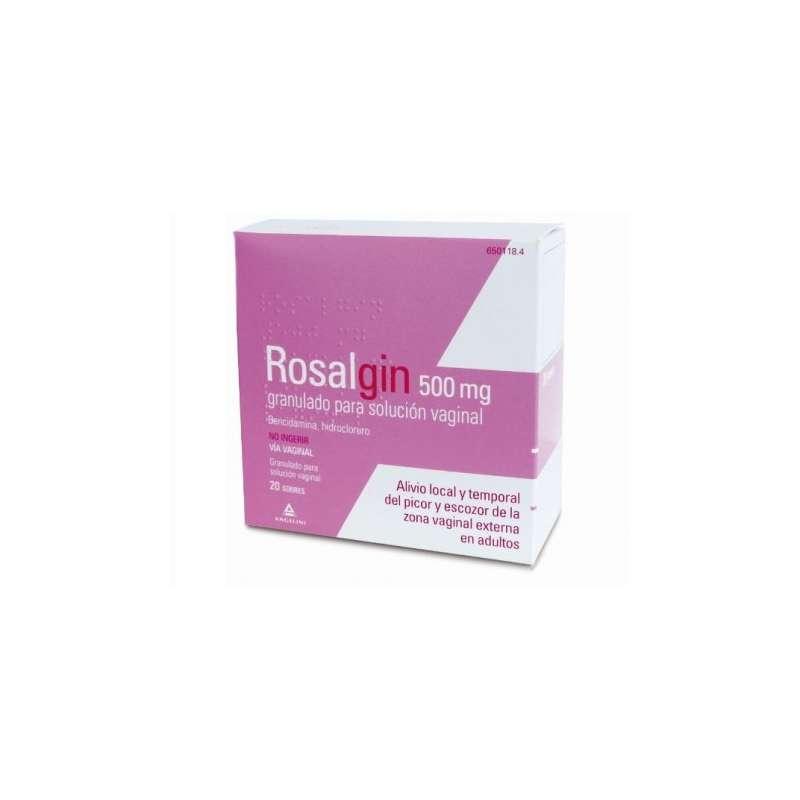 ROSALGIN 500 mg 20 SOBRES...