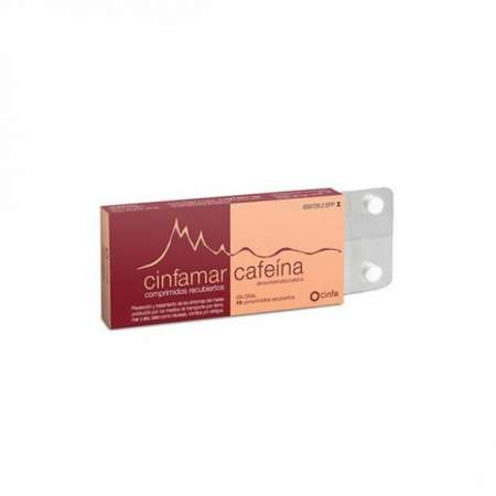 CINFAMAR CAFEINA 50 mg/50...