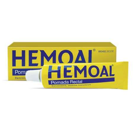 HEMOAL POMADA RECTAL 1 TUBO...