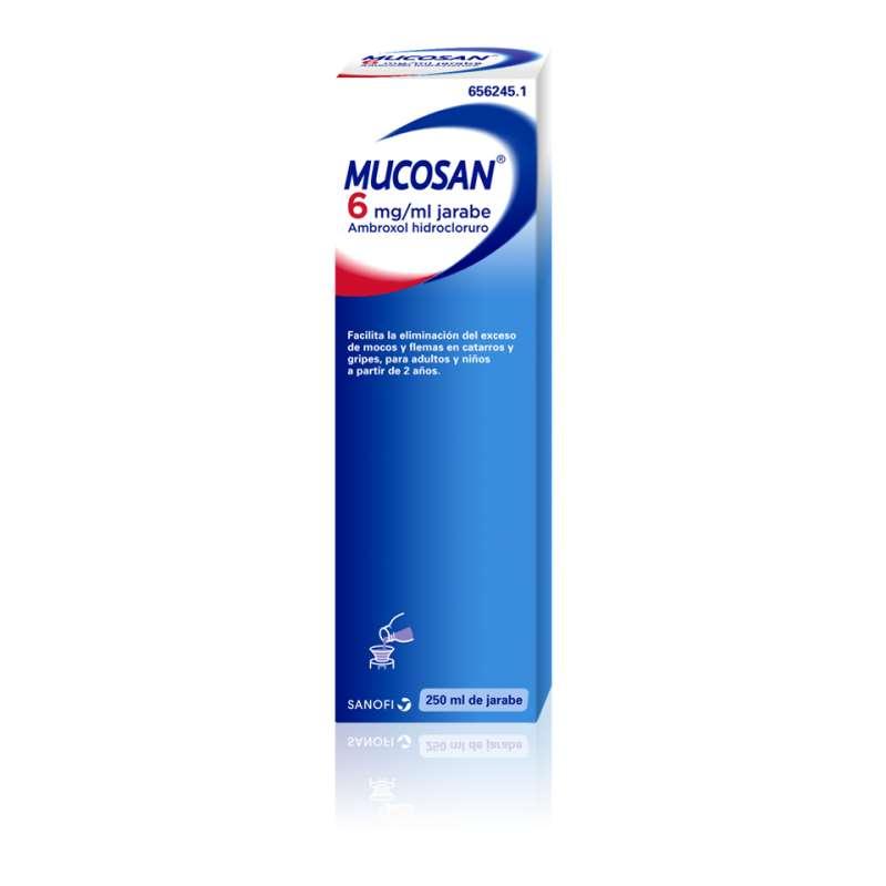MUCOSAN 6 mg/ml JARABE 1...