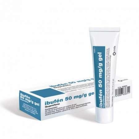 CINFADOL IBUPROFENO 50 mg/g...