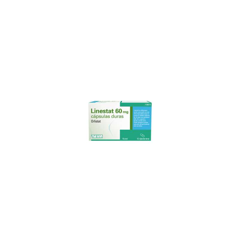 LINESTAT 60 mg 84 CAPSULAS
