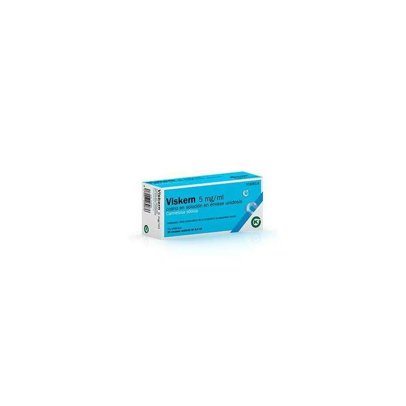 VISKERN 5 mg/ml COLIRIO EN...