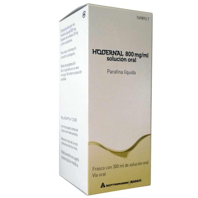 HODERNAL 800 mg/ml SOLUCION...