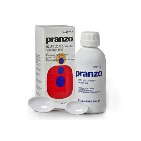 PRANZO 62,5 mg/ml + 1,25...
