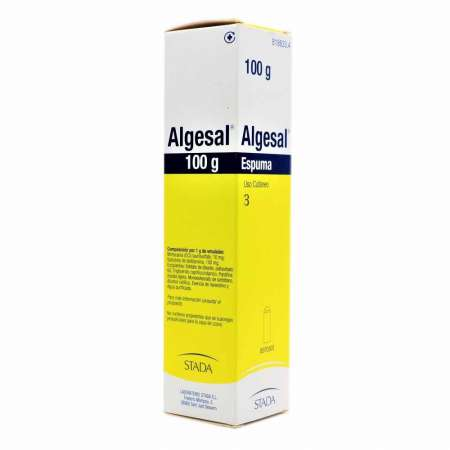 ALGESAL 100 mg/g + 10 mg/g...