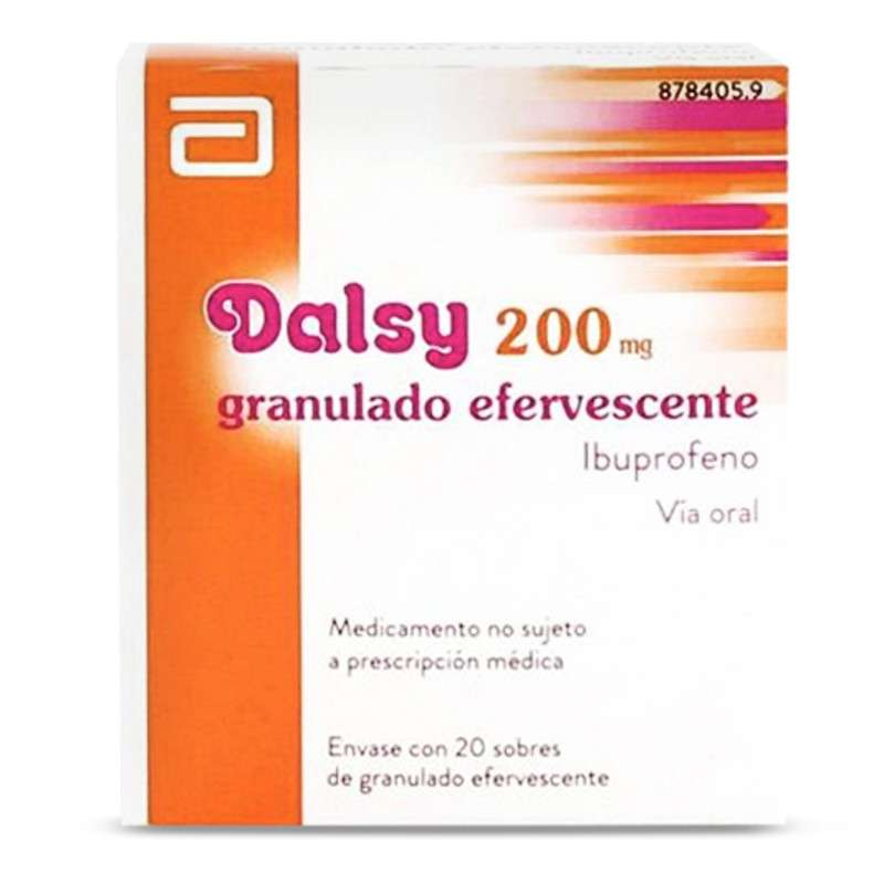 DALSY 200 mg 20 SOBRES...